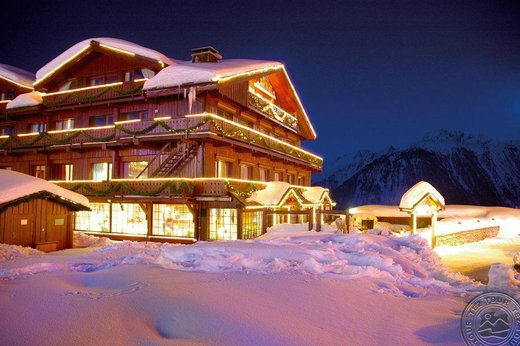 GRAND HOTEL AU ROND POINT DES PISTES (COURCHEVEL 1850)