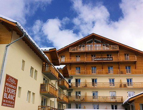 RESIDENCE L'OURS BLANC (LES 2 ALPES)