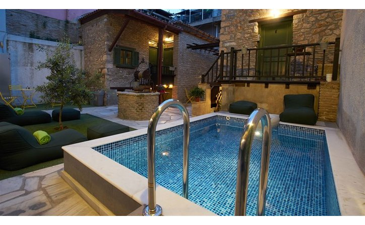 Athenian Residences Pool & Luxury Suites